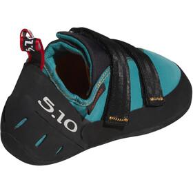 adidas Five Ten Anasazi LV Climbing Shoes Women collegiate aqua/core black/red